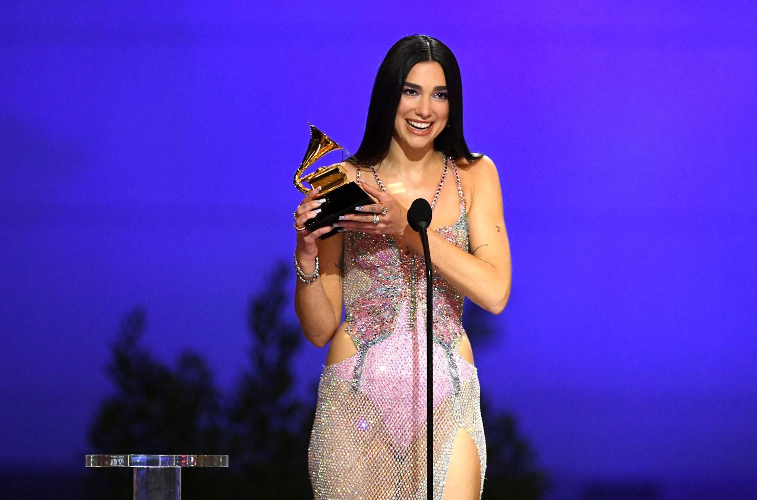 Dua Lipa's 'Future Nostalgia' Wins Best Pop Vocal Album at 2021 Grammy Awards