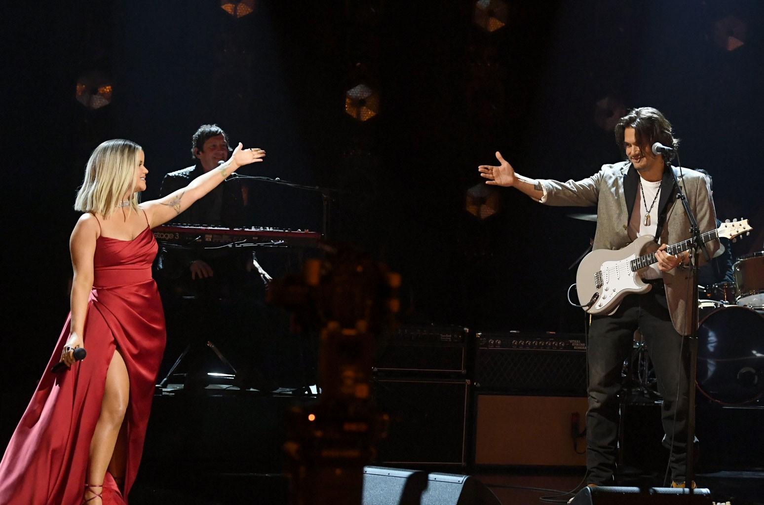 Maren Morris, John Mayer
