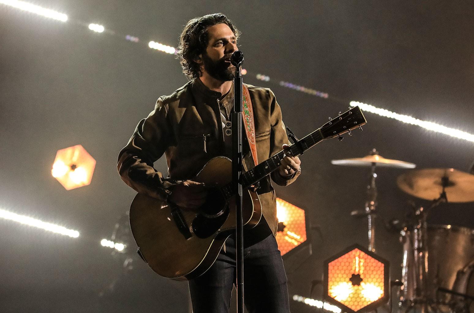 Thomas Rhett Brings a Pair of 'Country' Songs to the 2021 ACM Awards