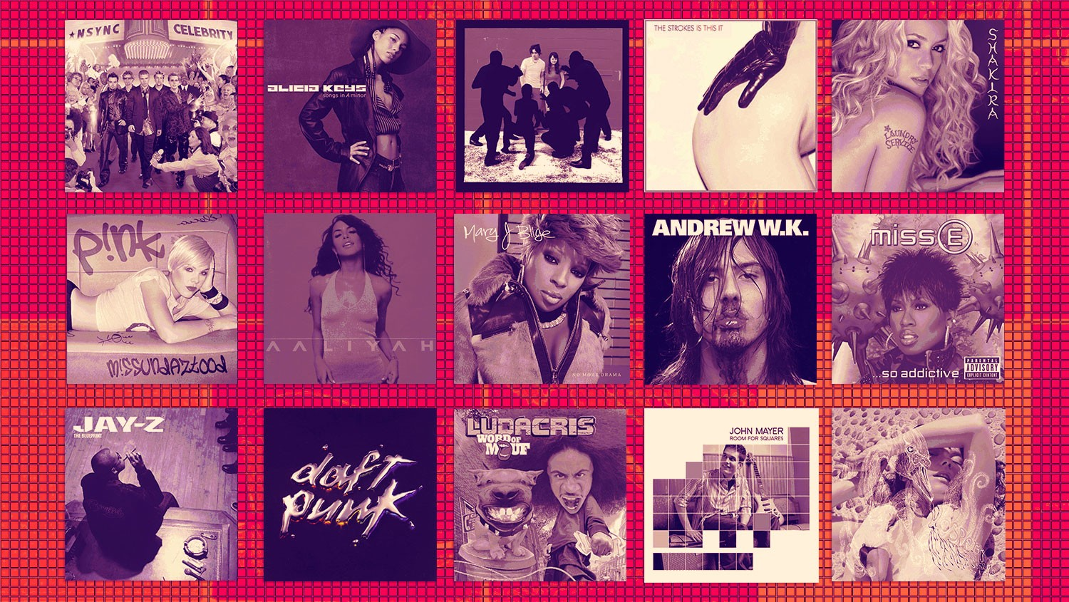 Album Covers for 2001 Deep Cuts