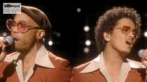 Bruno Mars & Anderson .Paak's Silk Sonic Tops Billboard Hot 100 With 'Leave the Door Open' | Billboard News
