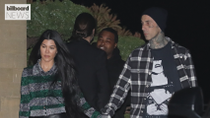 Travis Barker Showers Kourtney Kardashian With Love and PDA on Her Birthday | Billboard News
