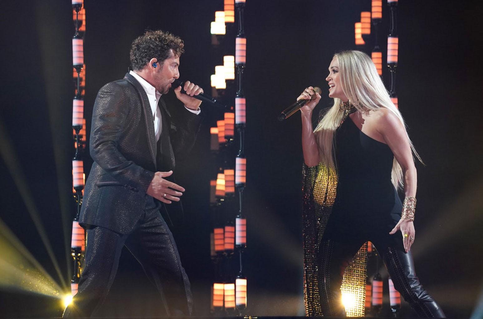 David Bisbal, Carrie Underwood