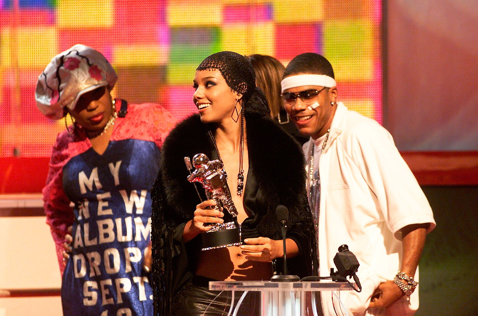 Macy Gray, Alicia Keys and Nelly