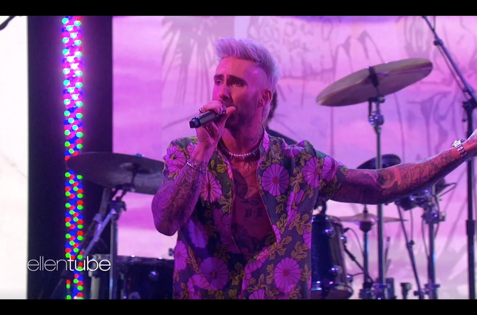 Adam Levine, Maroon 5