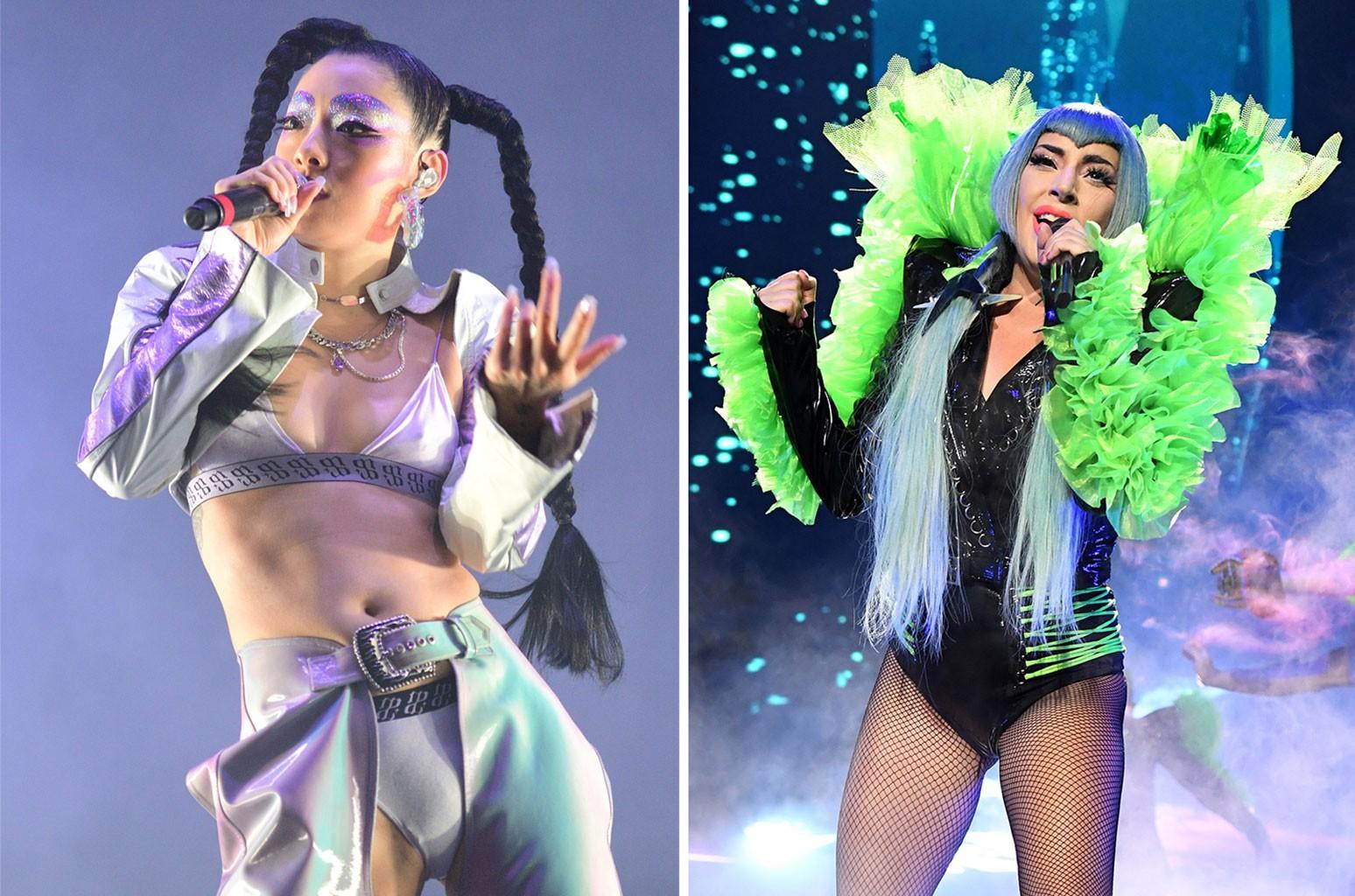 Rina Sawayama and Lady Gaga