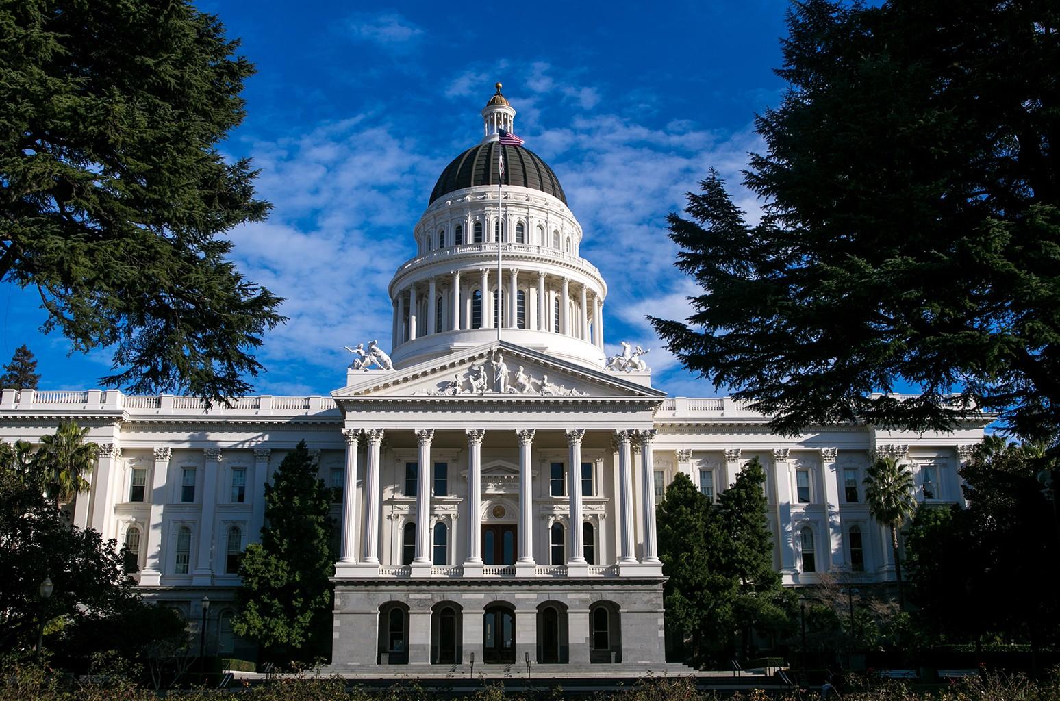 State Capitol building in Sacramento, Calif.