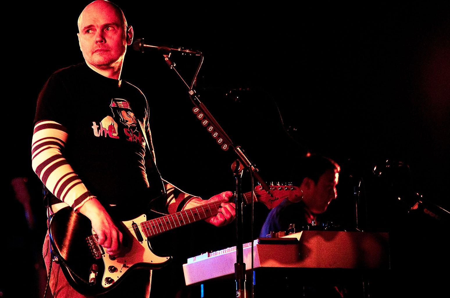 Billy Corgan, The Smashing Pumpkins, Barclays Center, 2012