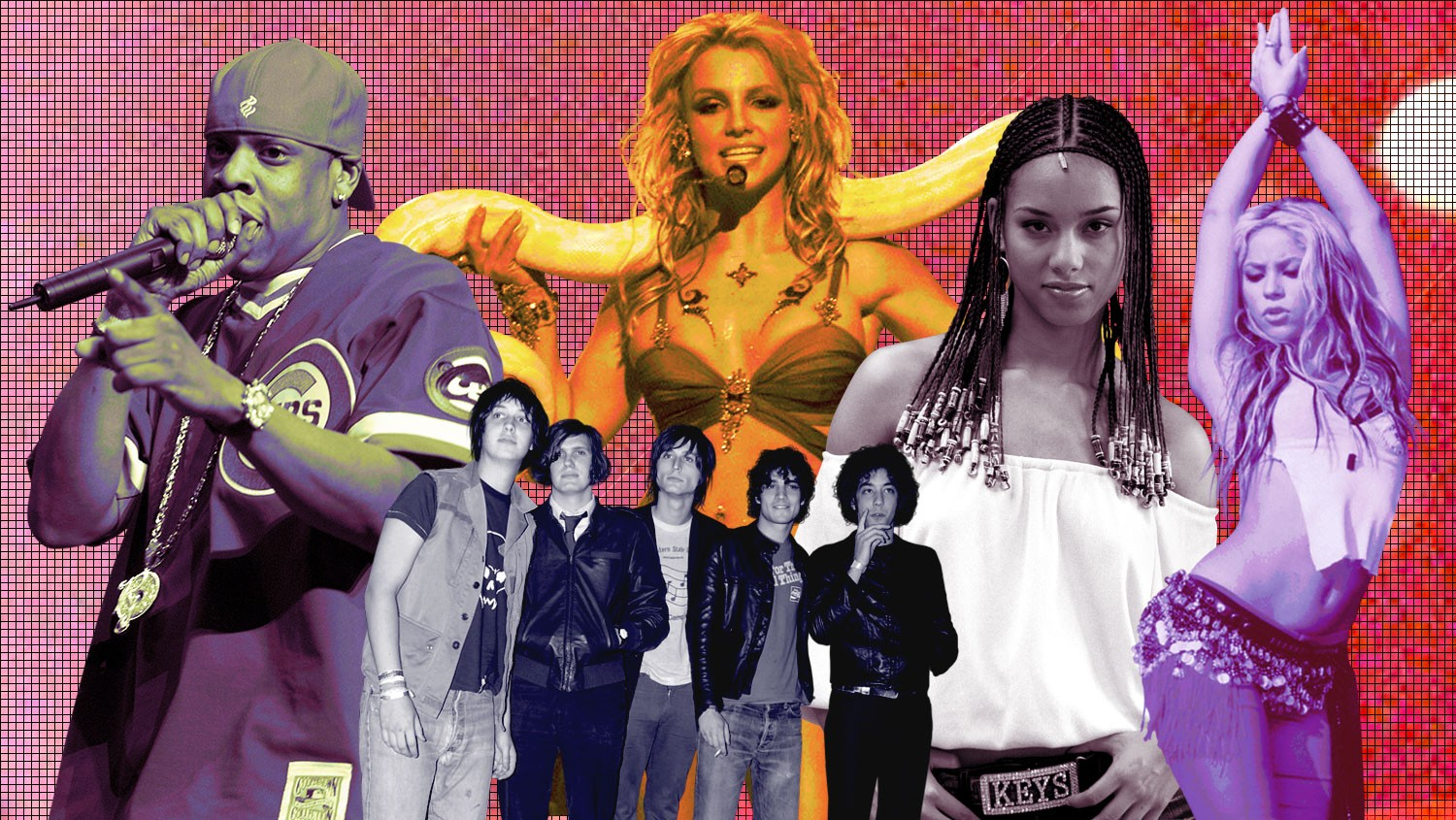 Top 100 Songs of 2001 Jay-Z The Strokes Alicia Keys Britney Spears Shakira