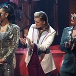 Elton John Honored at 2021 iHeartRadio Awards With Medley Performance From H.E.R., Brandi Carlile & Demi Lovato