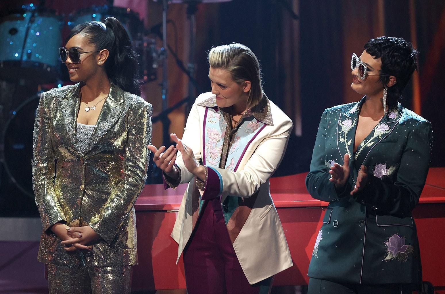 H.E.R., Brandi Carlile, Demi Lovato