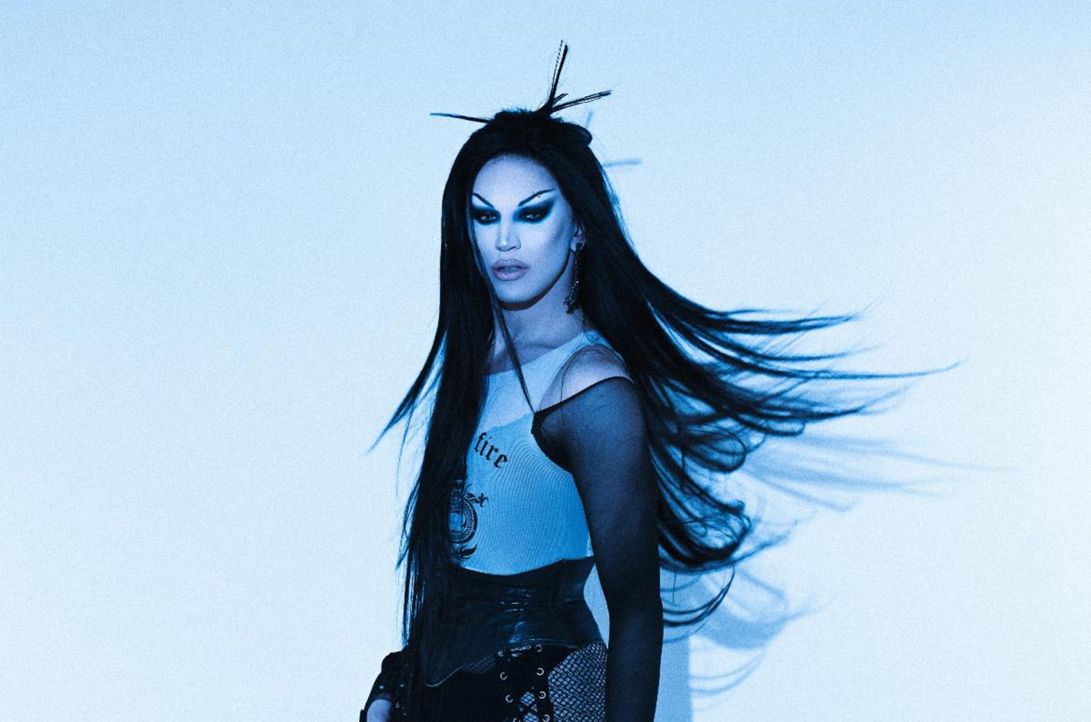 'Drag Race' Star Aquaria Transformed Into Evanescence's Amy Lee Before Interviewing Her