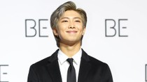 BTS' RM Debuts New Pink Hair Color & Resurrects 'Pink Joon' | Billboard News