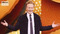 Conan O'Brien Had the Best Reaction to BTS' J-Hope Calling Him 'Curtain' | Billboard News