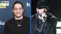 Pete Davidson Recalls His Talk With Eminem After Impersonating Him on 'SNL' | Billboard News