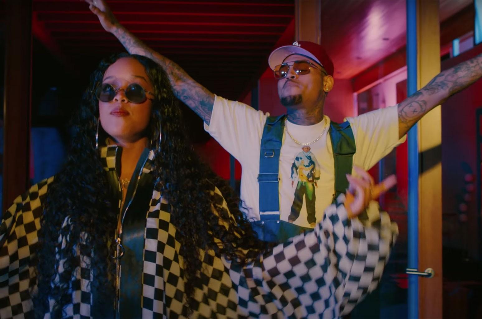 """H.E.R. ft. Chris Brown """"Come Through"""""""