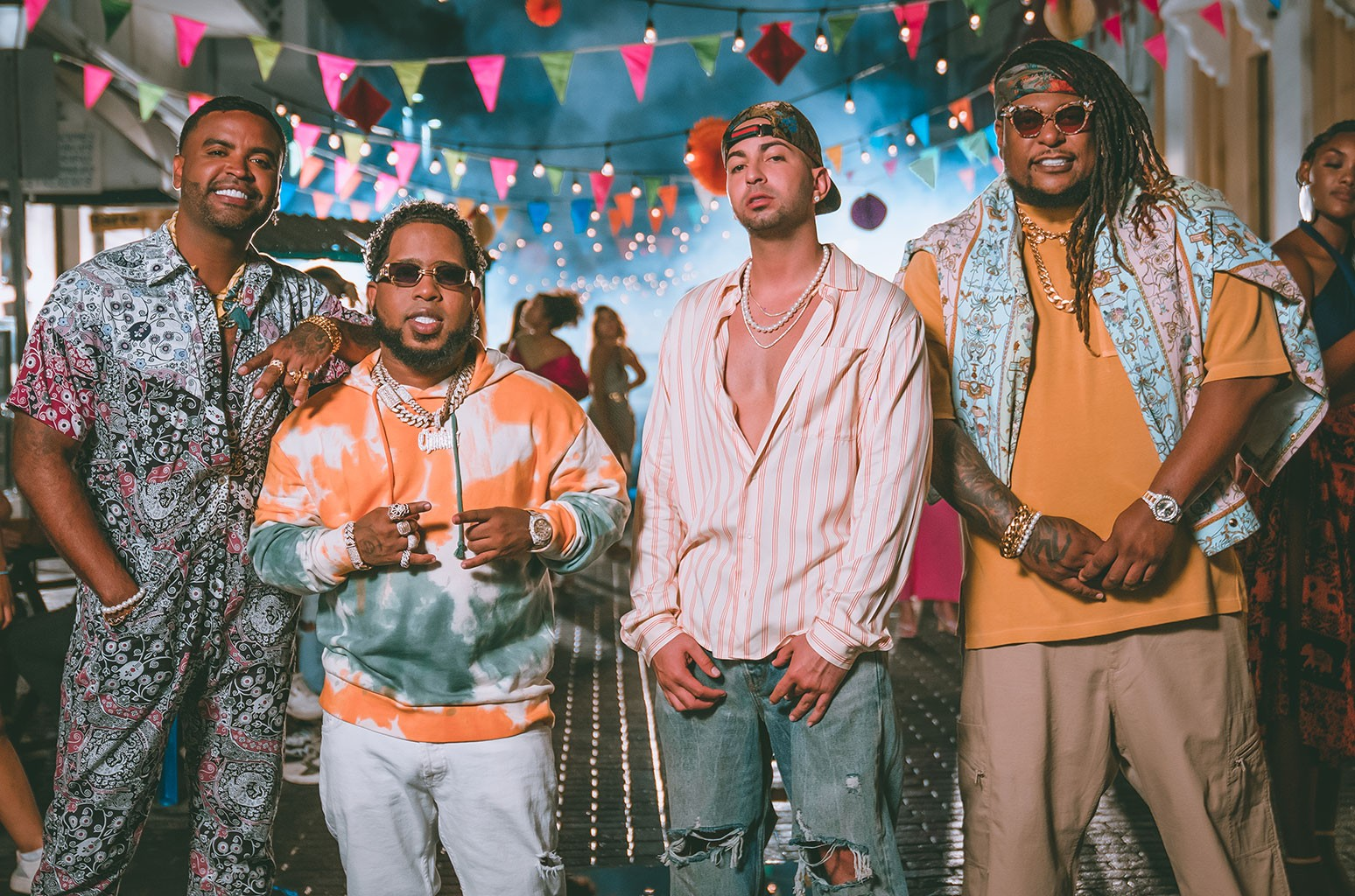 Justin Quiles, Chimbala, Zion & Lennox