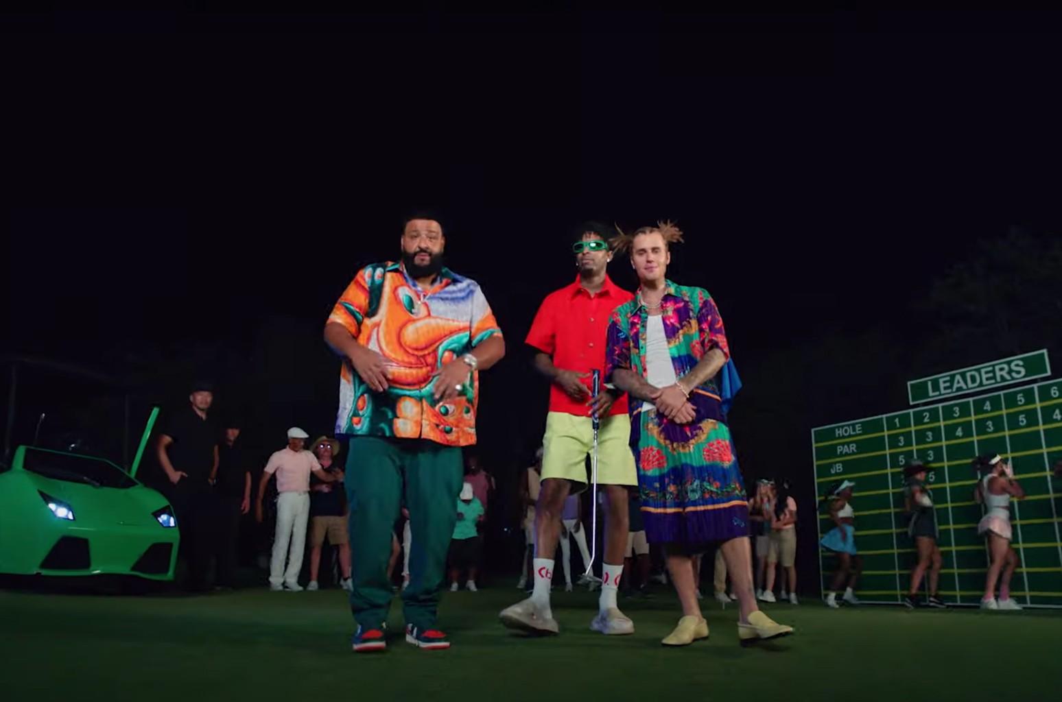 DJ Khaled, Justin Bieber, 21 Savage