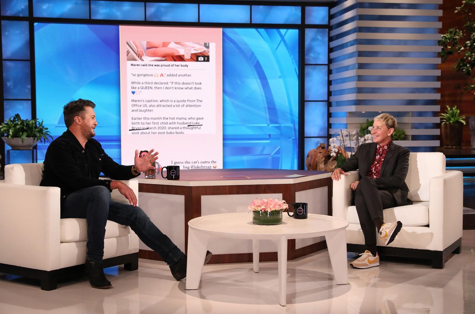 Luke Bryan, Ellen DeGeneres