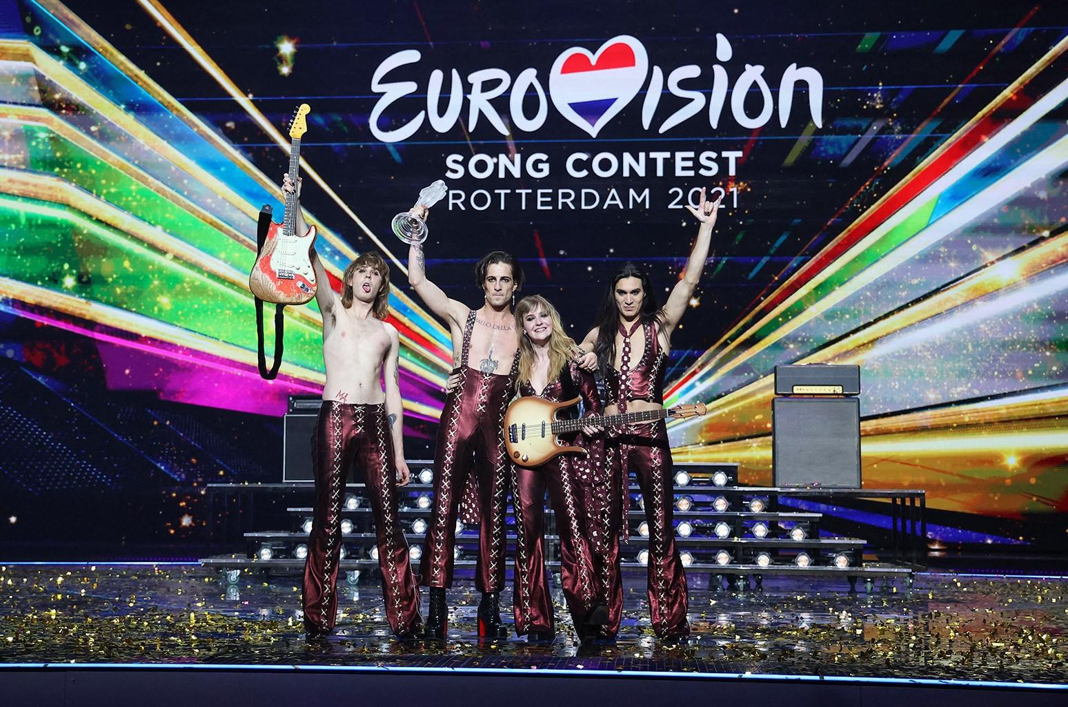 Måneskin, Eurovision