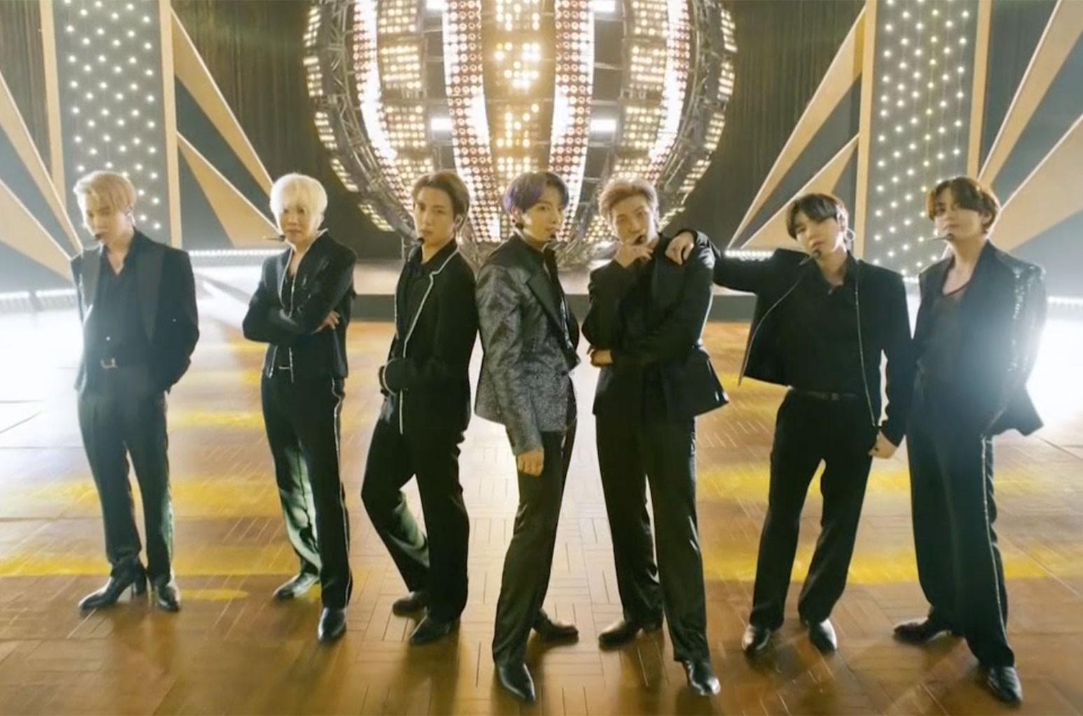 Smooth Start: BTS' 'Butter' Blasts In at No. 1 on Billboard Hot 100 – Billboard
