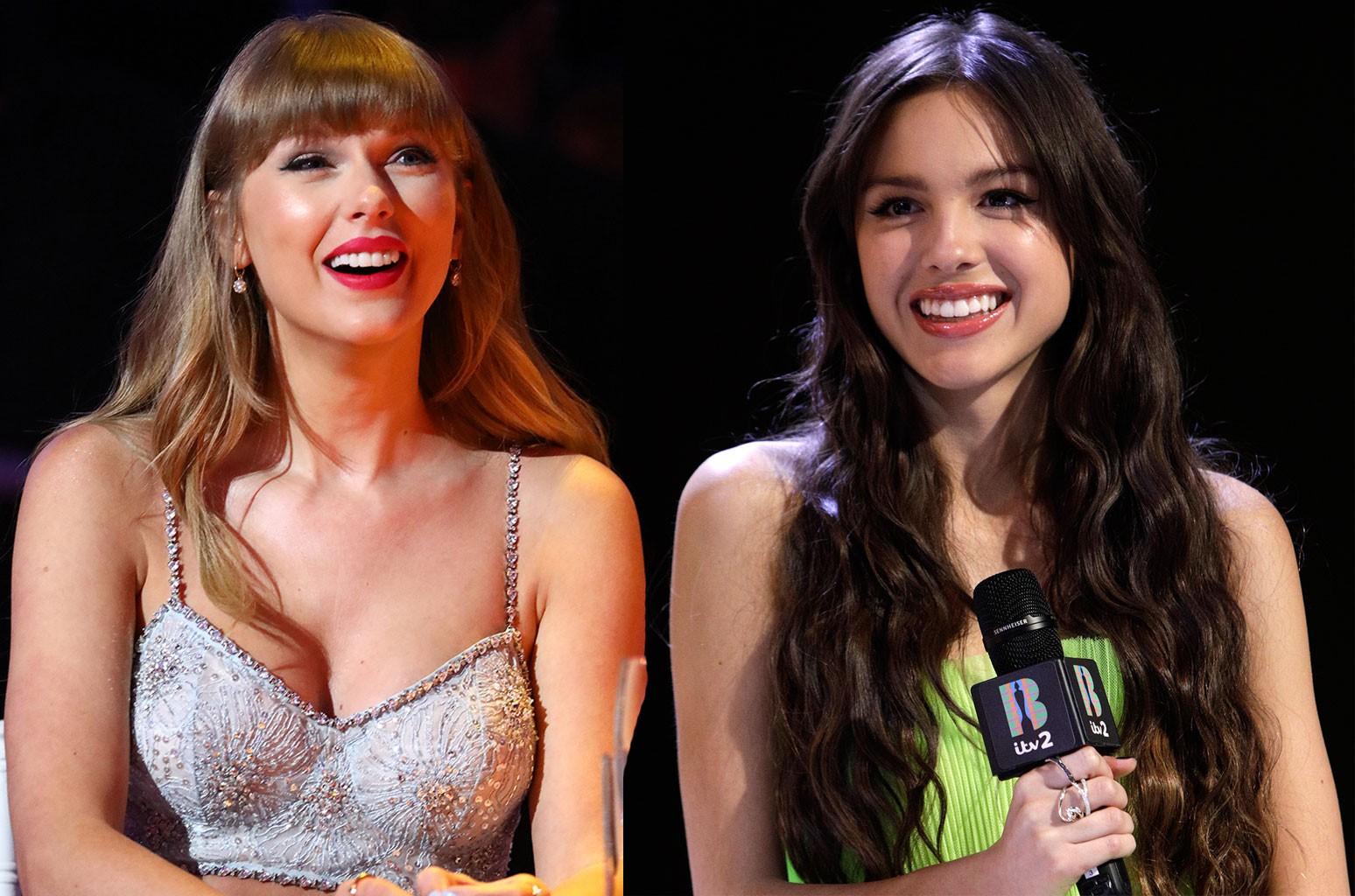 Taylor Swift, Olivia Rodrigo