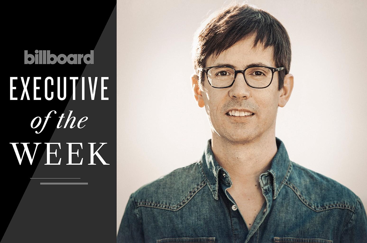Executive of the Week: Sony Music U.S. Latin President Alex Gallardo