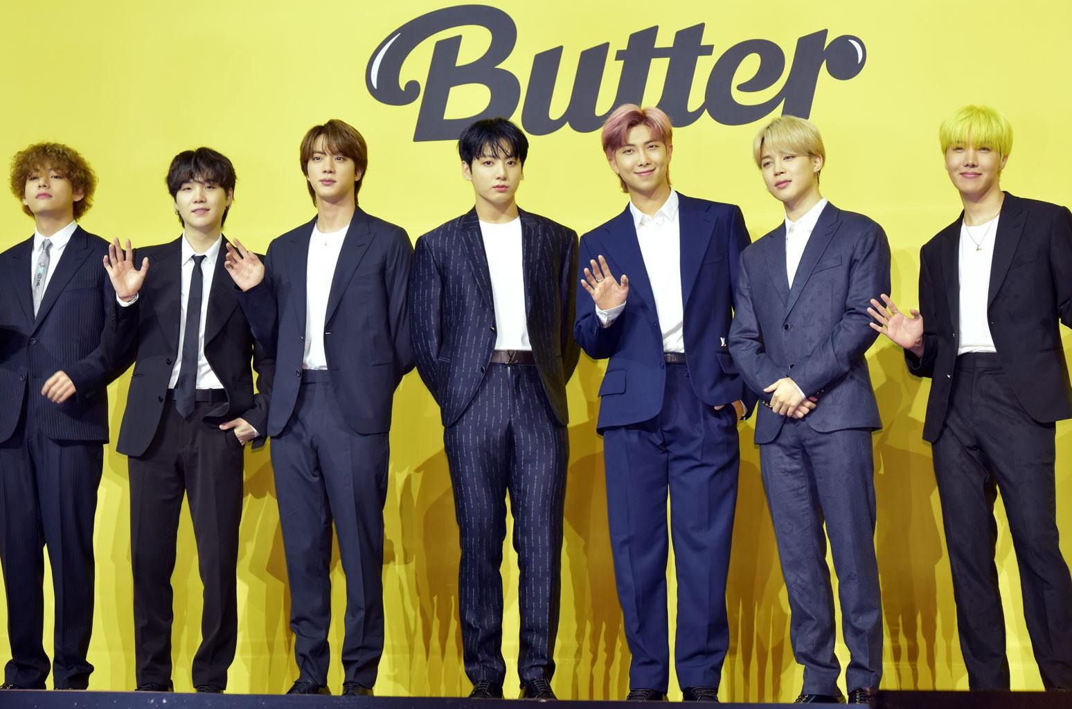 BTS' 'Butter' Tops Songs of the Summer Chart   Billboard