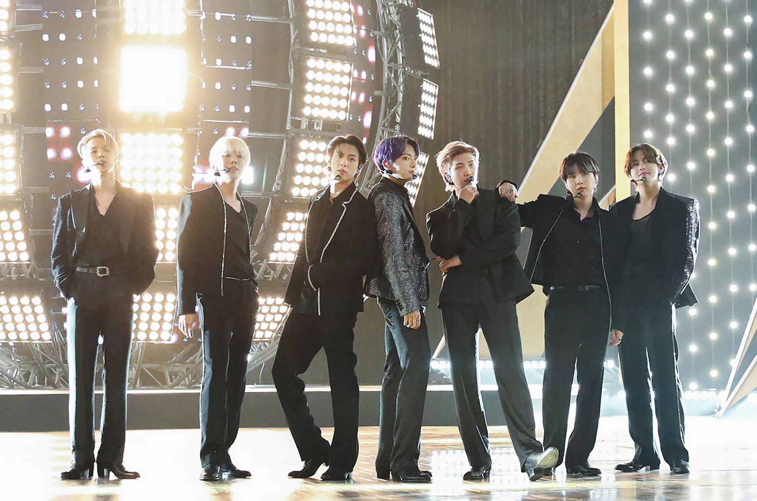 BTS Talk Ed Sheeran, Grammys and More on 'Fallon': Watch