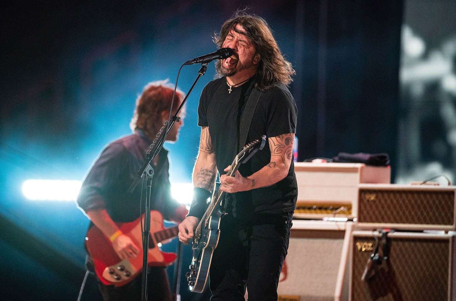 Foo Fighters Concert Protested By Anti-Vaccine Activists, Including Ricky Schroder