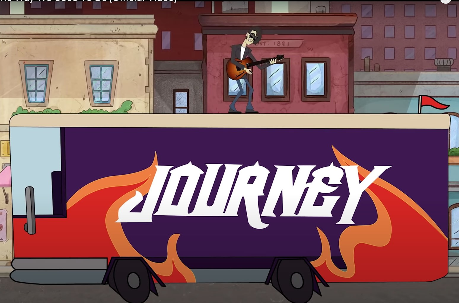 """Journey """"The Way We Used To Be"""""""