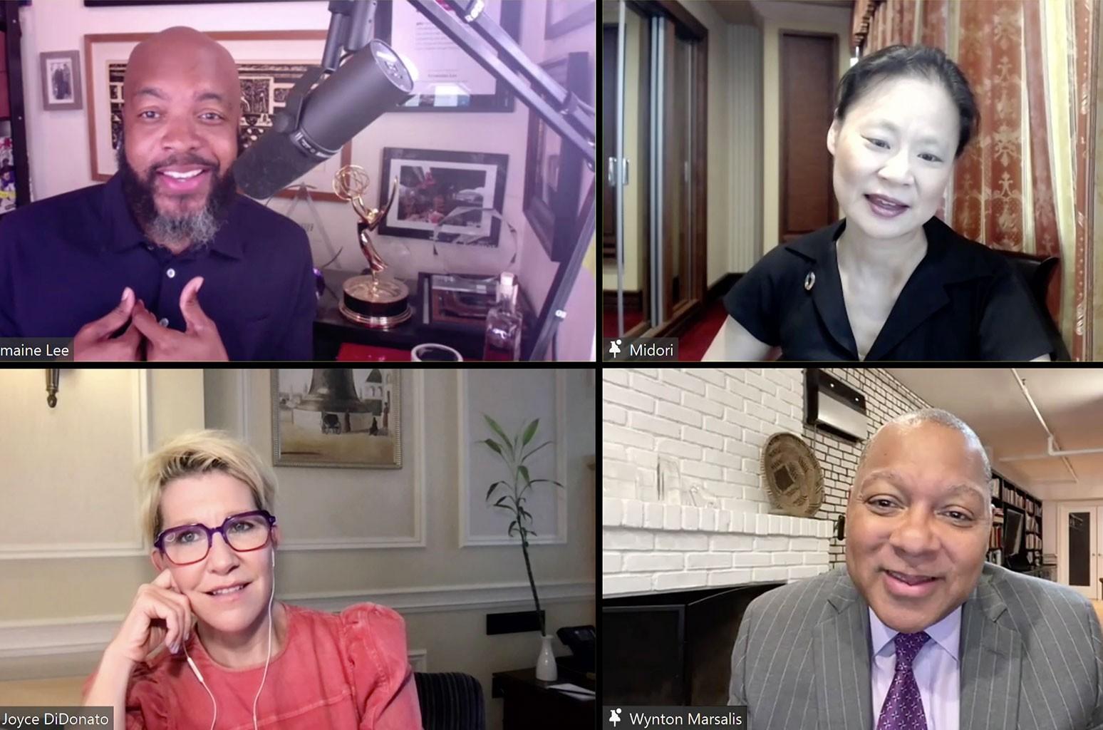 Midori, Joyce DiDonato & Wynton Marsalis Discuss How to Bring Peace Through Music in Roundtable Chat