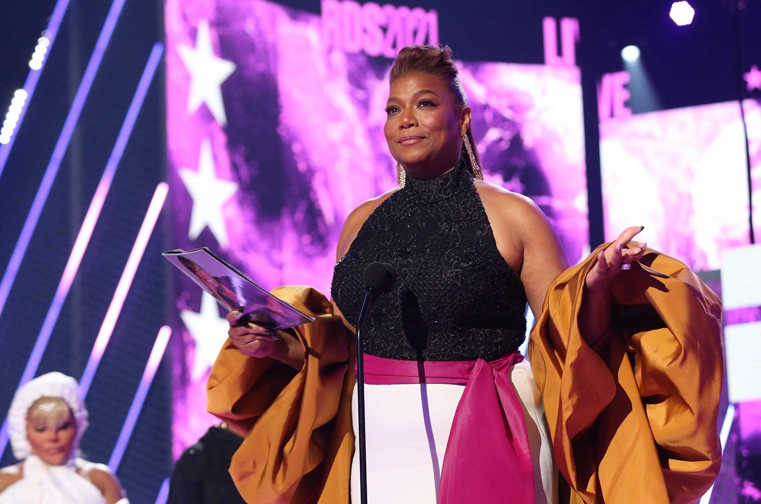 Queen Latifah Accepts Lifetime Achievement Award at 2021 BET Awards    Billboard
