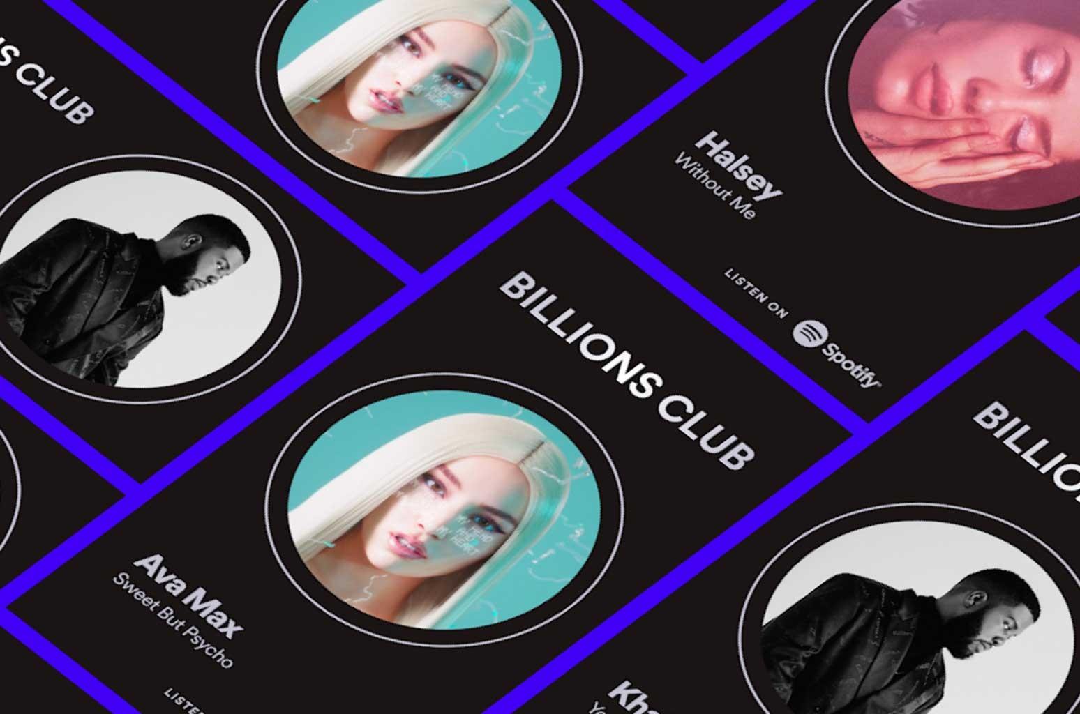 Spotify Billions Club