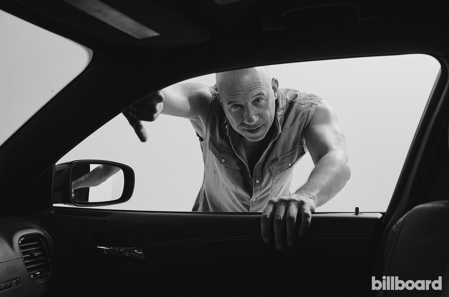 Vin Diesel photographed by Austin Hargrave