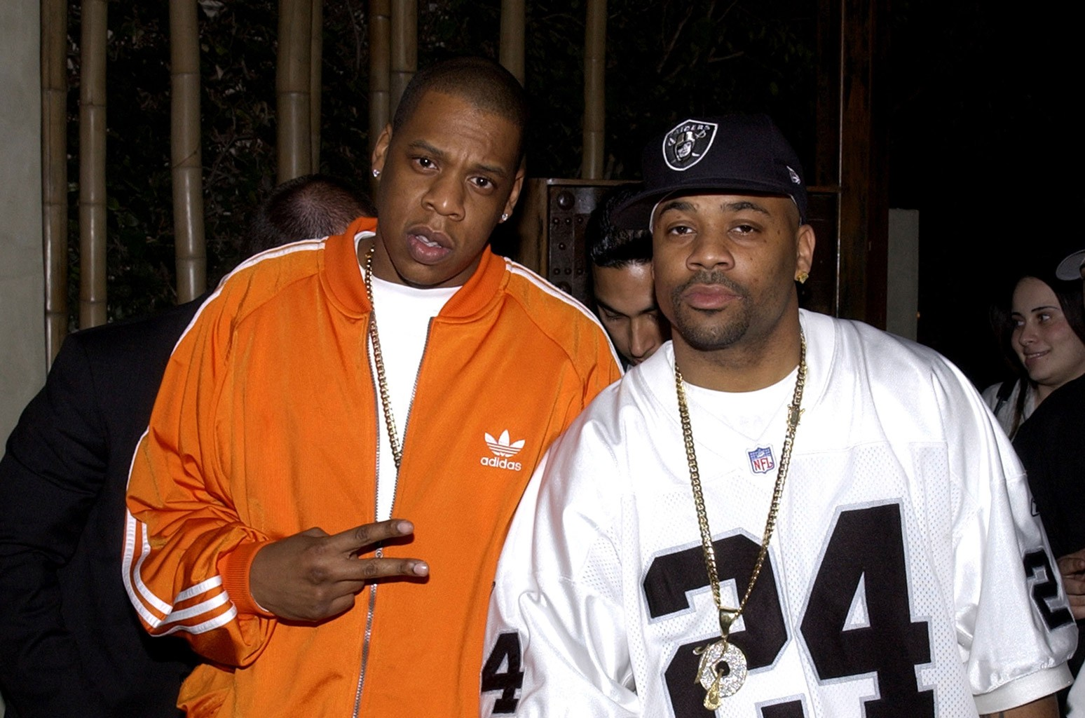 Jay-Z and Damon Dash