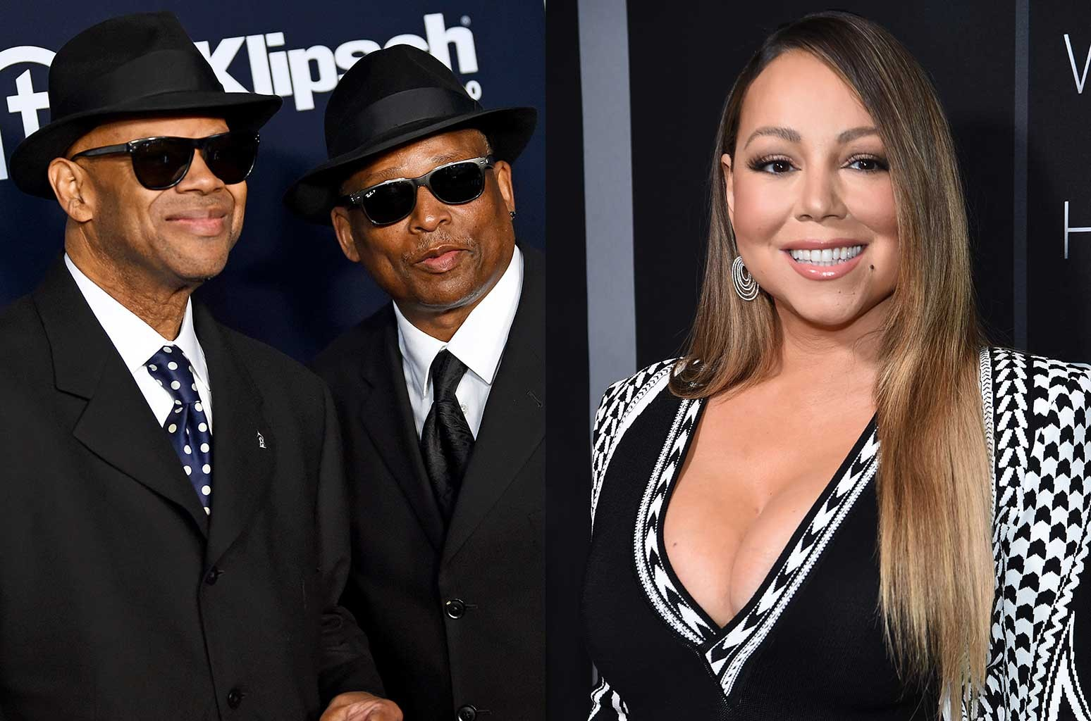 Jimmy Jam, Terry Lewis, Mariah Carey