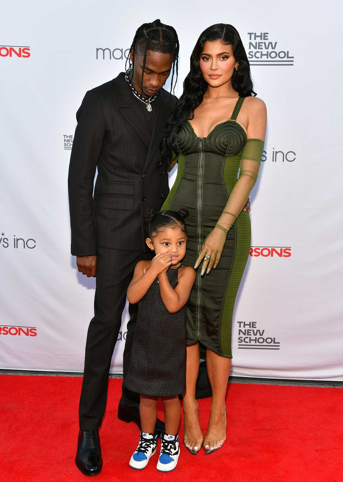 Travis Scott, Kylie Jenner and daughter Stormi