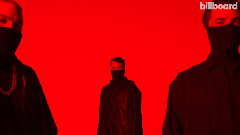 <p>From left: Steve Angello, Sebastian Ingrosso and Axwell of Swedish House Mafia photographed by Therese Öhrvall on June24, 2021 at Delight Studios in Stockholm.</p>