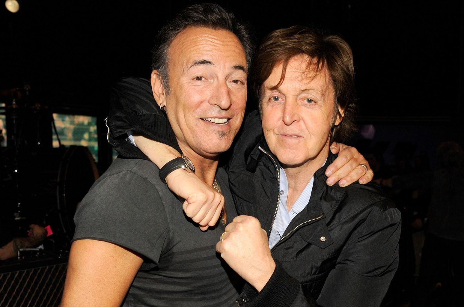 Bruce Springsteen, Sir Paul McCartney