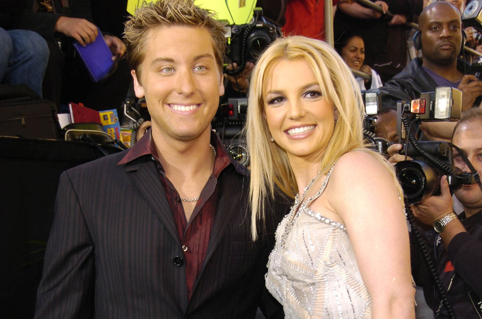 Lance Bass, Britney Spears