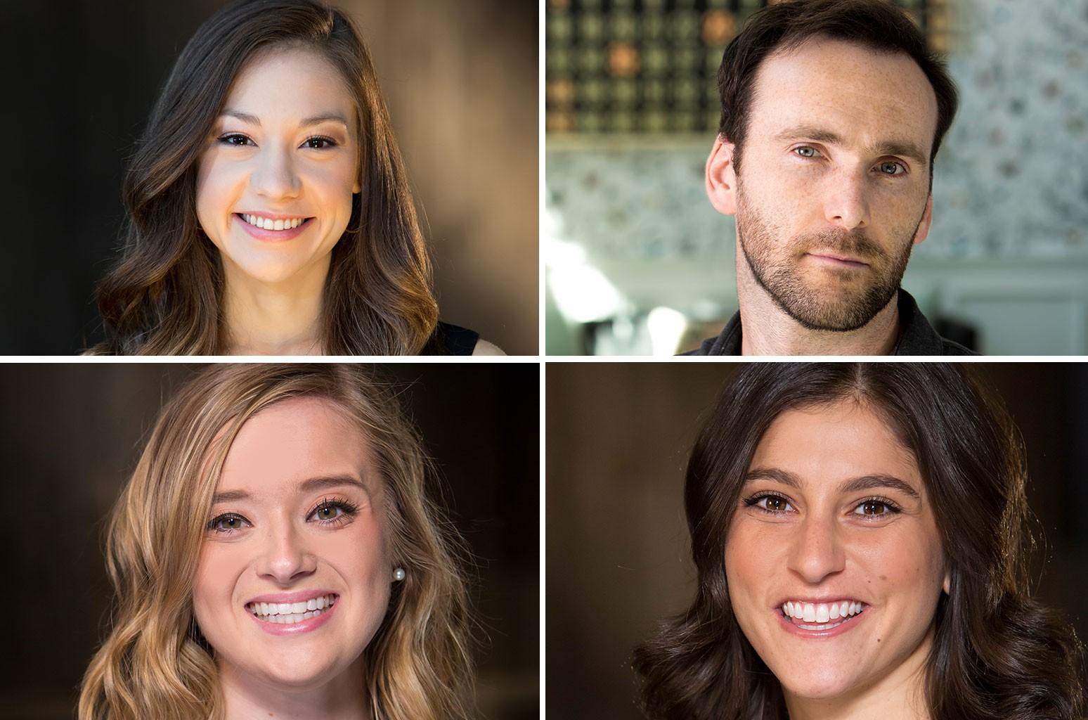 Libby Gardner, Brandon Campbell, Jen Heaton