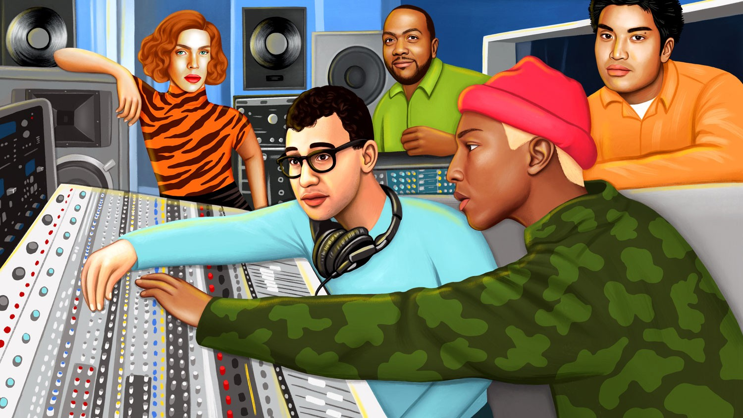The 50 Greatest Producers of the 21st Century: Staff List