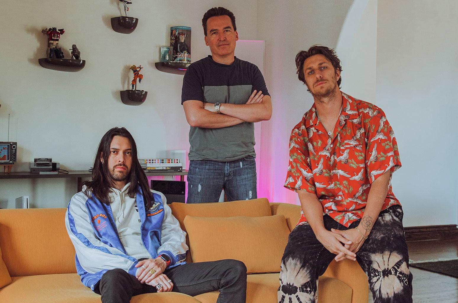 Tim Jones, Jorge Hernandez, Mike Kosak
