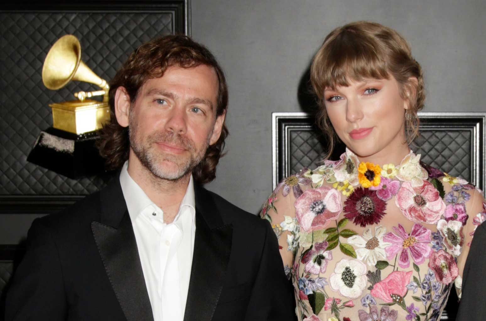 Aaron Dessner and Taylor Swift