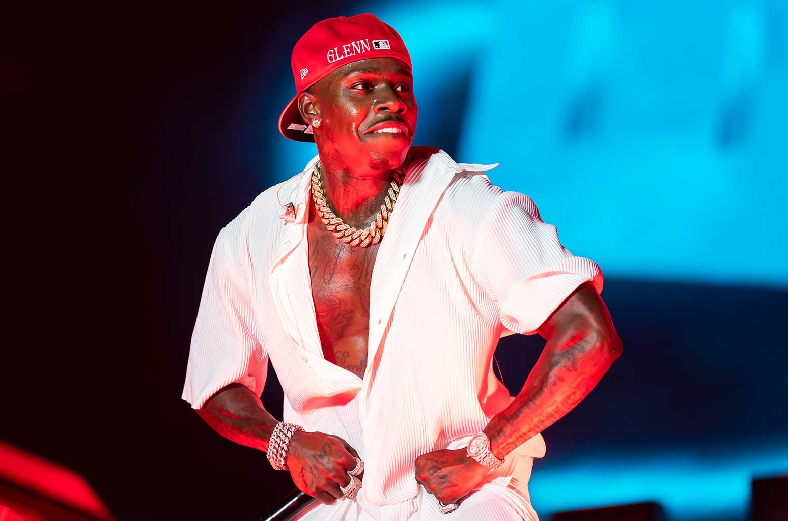 DaBaby at Rolling Loud 2021