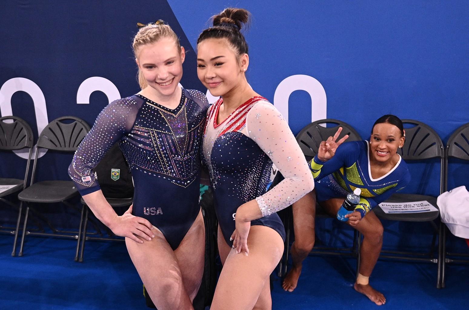 Jade Carey, Sunisa Lee