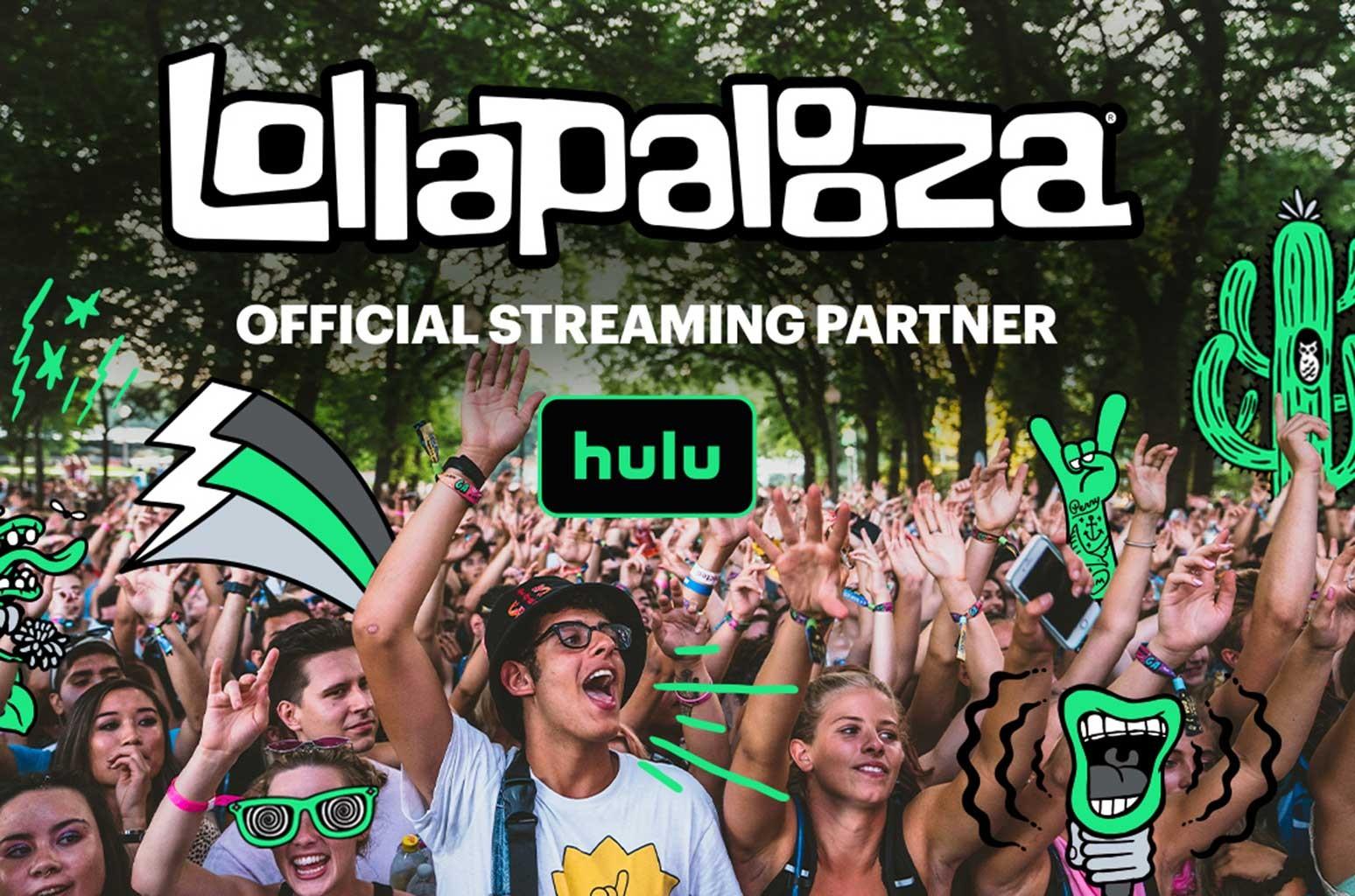 Lollapalooza 2021 streaming via Hulu
