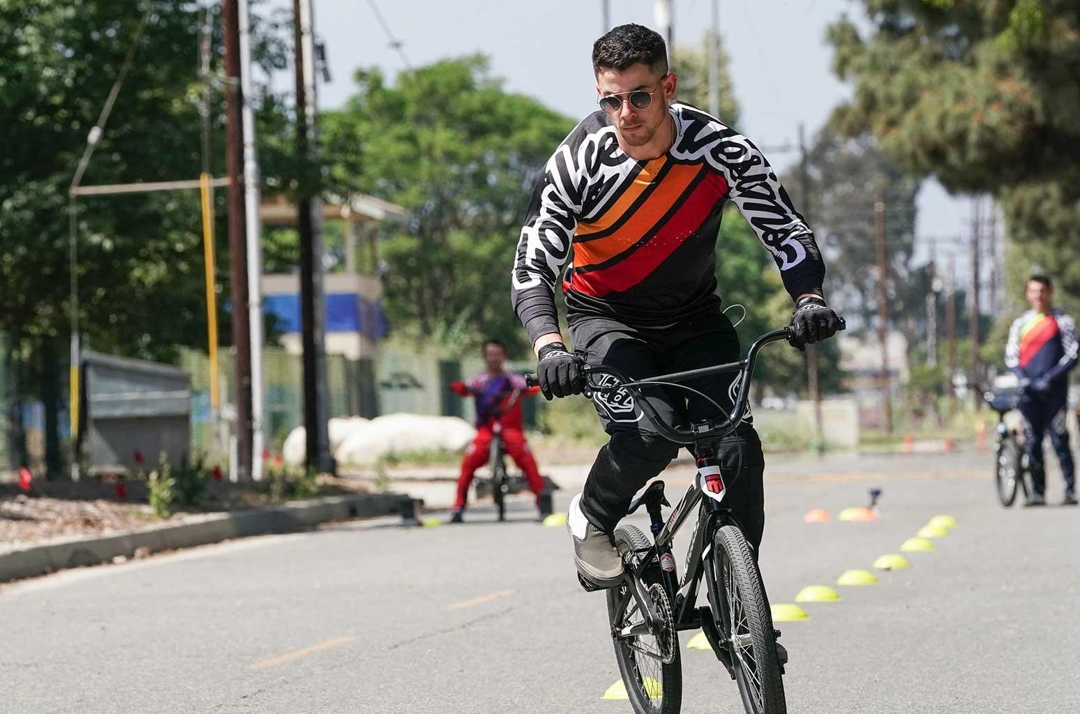 Nick Jonas on 'Olympic Dreams.'