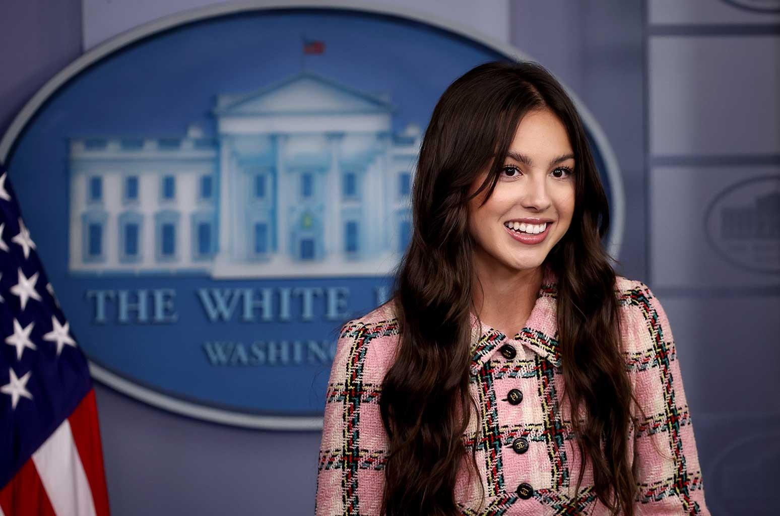 Olivia Rodrigo at the White House